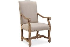 Christi - this is the color combo I think will look nice with the table. Lee Industries 5862-41 Host Chair