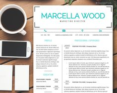 Resume Template Mac, CV Template Instant Download Resume, Professional Resume Design, Resume Cover Letter Full Package by SuccessTools on Etsy