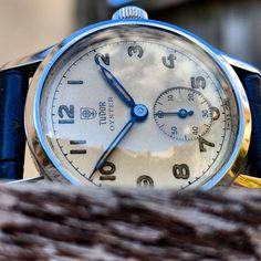 "34b9c7e827c Gungadin Watches on Instagram  ""Splendid Early Vintage Rolex Tudor Oyster  Gents 4453 Wristwatch Cal 59 c.1949…"""