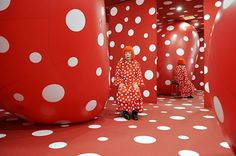 Yayoi Kusama is Big in Japan, then NYC