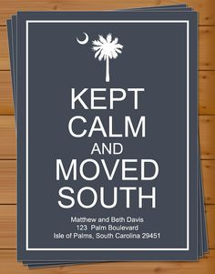 <3 south carolina  This will definitely be our moving cards.  Substitute Charleston, SC for Isle of Palms :)