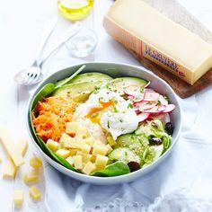 cuisine recette oeuf radis olive bol cuinsine huile olive couvert torchon