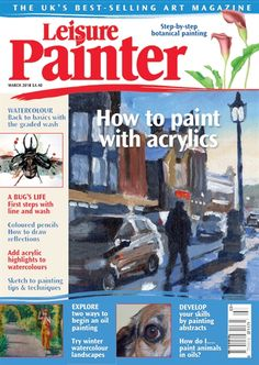 Learn Chinese Brush Painting Techniques with Pauline Cherrett Blind Drawing, Contour Drawing, Magazine Art, Magazine Design, Rhino Beetle, Paint My Photo, Pen And Wash, Continuous Line Drawing, A Bug's Life