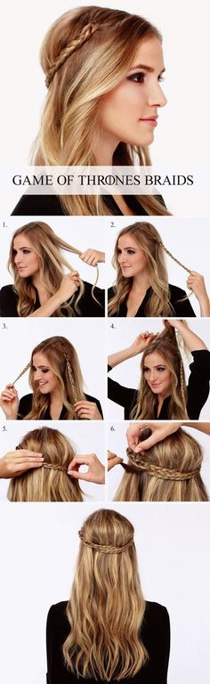 Game of Thrones Braids tutorial