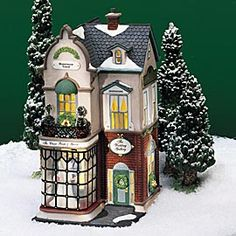 "Department 56: Products - ""The Wedding Gallery"" - View Lighted Buildings  wish list"