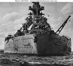 El Acorazado Bismarck fue el primero de los dos acorazados de la clase Bismarck de la marina de guerra alemana, la Kriegsmarine, durante la Segunda Guerra Mundial. Nombrado así en honor del canciller Otto von Bismarck, promotor de la unificación alemana en 1871 y botado en febrero de 1939.