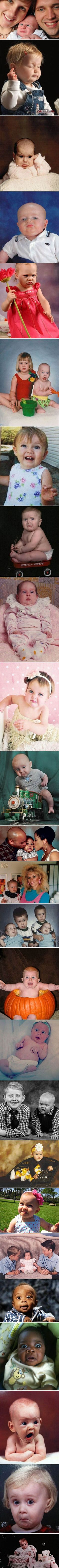 24 Funny Baby Photographs That Were Taken At The Perfectly Wrong Time funny lol fail humor funny pictures funny kids fails hysterical funny images. The last one is just perfect Haha Funny, Funny Cute, Funny Memes, Funny Stuff, Super Funny, Kiss Funny, Scary Funny, Videos Funny, Creepy