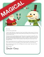 """Has Santa been too busy to write a Letter to your little one? We can help! Choose from 16 Magical Designs, and 13 amazing personalized messages and """"send"""" a printable Magical Letter from Santa Package!! www.easyfreesantaletter.com"""