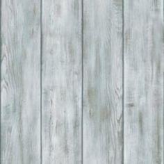 Drift Wood Wallpaper Natural Blue / White (ILW009)