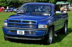 Dodge Ram trucks Blue