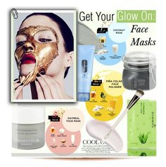 """Get Your Glow On: Face Masks"" by kusja ❤ liked on Polyvore featuring beauty, Omorovicza, Clinique, Borghese, Chantecaille, Beauty, skincare and facemasks"