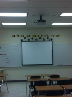 Great ideas for middle school classroom