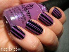 Lilac  e Black