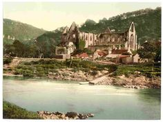 latest addition Tintern, Abbey from the ferry, England