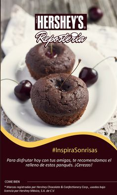 #InspiraSonrisas con Hershey's® Repostería. #Hersheys #Chocolate #InspiraSonrisas #Repostería #Postres #Receta #DIY #Bakery #Cupcake #Panquecito