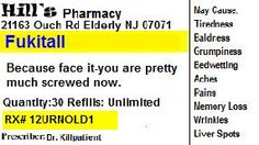fake prescription label template - Morningperson.co