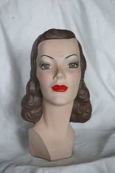 Mannequin Head Alice #27 by MannequinHeadsToLove on Etsy