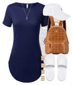 """""""Summer Nights. """" by livelifefreelyy ❤ liked on Polyvore featuring MCM, Puma, Polo Ralph Lauren, Gucci and Maison Margiela"""