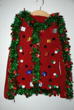 2013 Women's Ugly Christmas Sweater...Be the Hit of the PARTY...Free Shipping Within the USA..!!!