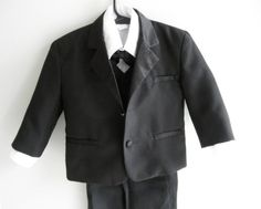 Vintage Baby Boy Suit 5 Piece 12 Month Gently by ThePoshBabyShoppe@etsy
