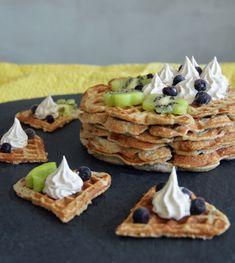 Terveelliset kauravohvelit / Sweets by Sini