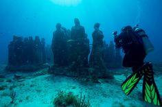 Underwater sculpture garden idea by  Jason d.Taylor