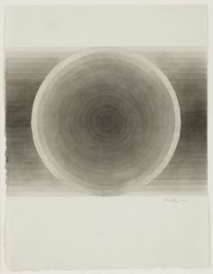 Eva Hesse, no title, 1966 brown ink wash and pencil. Private Collection, courtesy Anthony Slayter-Ralph