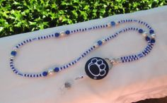 Penn State Nittany Lions Beaded Lanyard Navy by TheLanyardNecklace, $30.00