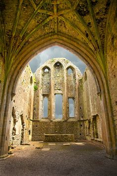 The ruins of Hore Abbey, County Tipperary, Ireland