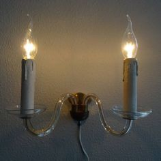 Venetiaanse wandlamp met twee armen