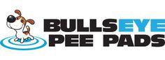 Bullseye Pee Pads - dogs pee on the target, so floors stay dry!