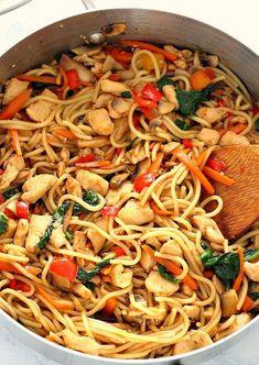 Easy Lo Mein | Food Recipes