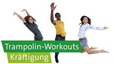 Trampolin-Workouts mit Prof. Ingo Froböse und Vanessa Blumenthal: Kräftigung