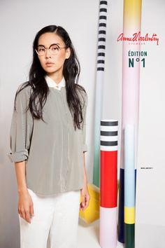 Anne et Valentin Eyewear - model ARKITEKT 1