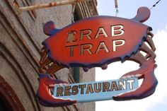 The Crab Trap - really good for fried seafood