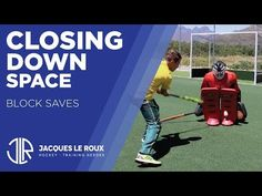 Field Hockey Goalie - Part Block saves // closing down space Field Hockey Quotes, Field Hockey Goalie, Hockey Drills, Goalkeeper Training, Hockey Training, Closer, Coaching, Baseball Cards, Workout