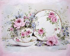 Trio & Blooms - Gail Mccormack