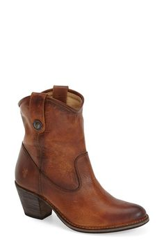 Frye 'Jackie Button' Short Bootie (Women) available at #Nordstrom