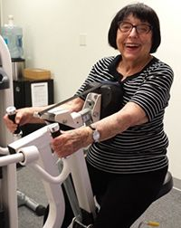 """At 91, Esther is proof that it's never too late to start exercising. """"I've been transformed."""""""
