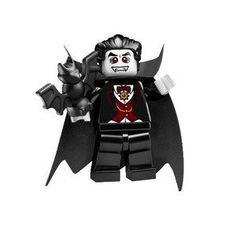 LEGO Mini Figure Dracula Vampire