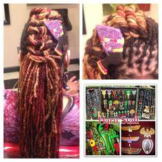 Nefertiti Hair clip by NUBIANTHRONE on Etsy