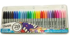 Sharpie 28 Pack Fine Permanent Markers. Limited Edition Set: Amazon.co.uk: Office Products