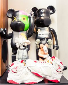 """""""I started collecting [KAWS and Bear Bricks] about three years ago."""" http://www.thecoveteur.com/elly-j-soul-brothers/"""