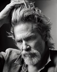 Jeff Bridges. Grow old.  Gracefully? Overrated.  Grow old, with Grace ... that's the thing.