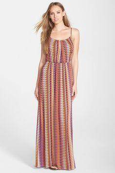 'Ezri' Print Maxi Dress