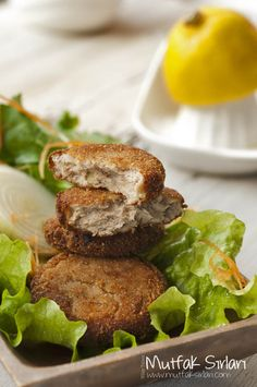 balik_koftesi_tarifi - food,cooking&kitchen - Eat Or Not Shellfish Recipes, Seafood Recipes, Dinner Recipes, Turkish Recipes, Ethnic Recipes, Turkish Kitchen, Fresh Fruits And Vegetables, Fish Dishes, Fish And Seafood