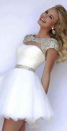 Nice & Charming White Dress