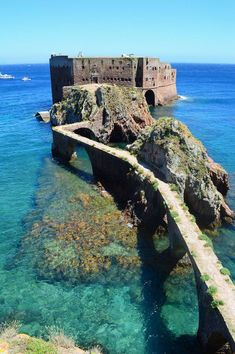 Fort of São João Baptista in the Berlengas Island © Courtesy of Chryso Tirekoglou Cool Places To Visit, Great Places, Places To Travel, Portugal, Most Beautiful Cities, Vacation Spots, Wonders Of The World, Travel Inspiration, Viajes