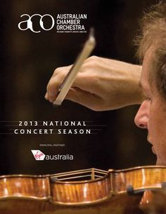 Australian Chamber Orchestra brochure 2013. Photos by Jamie Williams. Design by Leading Hand Design.