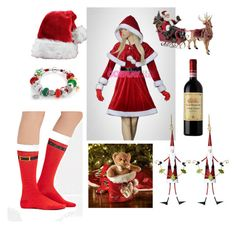 """""""Chrismas ideas"""" by cupcake135 on Polyvore featuring Forever 21, Bling Jewelry and Kurt Adler"""